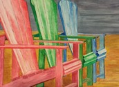 Chairs-Watercolor