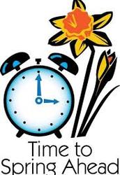 Daylight Savings Times Begins!