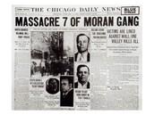 Valentines Day Massacre Newspaper