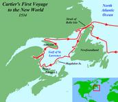 Cartier's Route