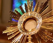 Monstrance with the Concecrated Host
