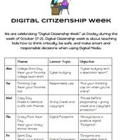 Digital Citizenship Week!