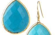 *SOLD* Serenity Stone Drops - Turquoise $24.50