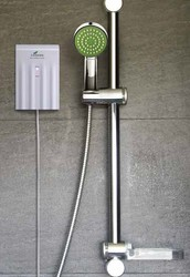Now available with a shower!