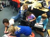 Students engaged!