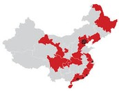 Manufacturing Map of China