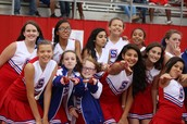 MS Cheer is Loud and Proud!