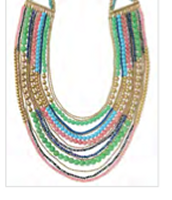 Zahara Bib Necklace  Reg $248 ~ Sale $124