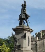 Monumento de Cristóbal Colón en Santo Domingo
