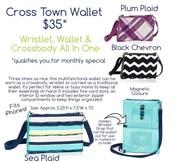 Cross Town Wallet- $15