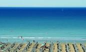BIBIONE: la spiaggia