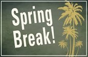 Week of March 21-25! Book a few days or the week!