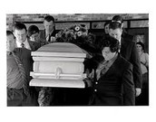 Mourners gather for the death of local farm girl!