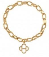 Link Charm Bracelet -GOLD $35