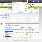 Checking Dropbox Receipts