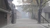 Birkenau Death Camp Entrence