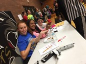 Official Score Keepers for SADD Dodgeball Tournament