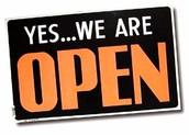 WE'RE OPEN 24/7!!!!