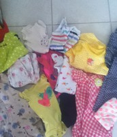Box of Beautiful Baby Girl clothes - 0 to 3 months !