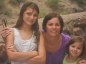 Emily, mom, and Me