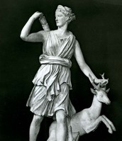 Artemis sculture