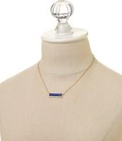 Element bar necklace