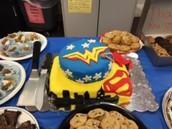 Super Cake for Super Teachers