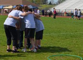Students, Teachers & Staff Huddle Up for PV Olympics