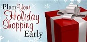 Only 10 more Fridays until CHRISTMAS!!!  Ahhhh let the shopping begin!!!