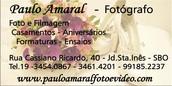 Paulo amaral - Foto e filmagem