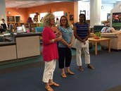 Honoring Ms. Fisher for her retirement