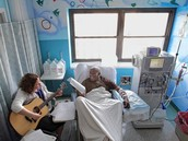 Music therapists can also meet in hospitals too.
