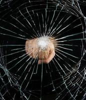 Punching glass