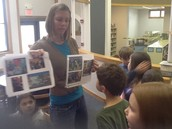 Artist, Ginger Huebner, Teaching Us About Collage