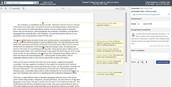 Example of ELA Essay Submission in SpeedGrader