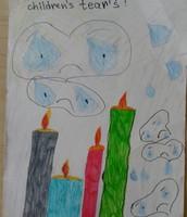 Sema's candle picture 5th grade