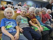 Students getting ready at FMSC