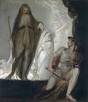 Odysseus visits Tiresias