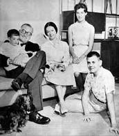 John Doe with his Family