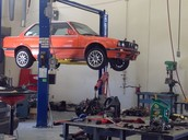 Auto Tech students must rebuild an engine for this car.