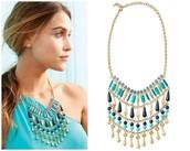 Malta Bib Necklace - Sale Price $47, Retail Price $118