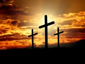 The Christian symbol is a Cross