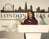 British Pakistani Mishal Husain won Broadcaster of the year at the London Press Club awards, setting an example for women globally.