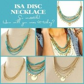 The Isa Disc necklace!m was $128, now $60