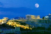 Temples In Athens