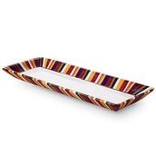 2 x Striped Rectangle Platter £10 (rrp £17.50)