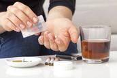 coffee ,alcohol, cigarettes