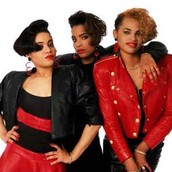 Salt n Pepa were one of the most popular bands in the 80s.