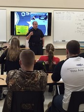 Osseo Police work with Students