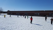 Beautiful winter recess day